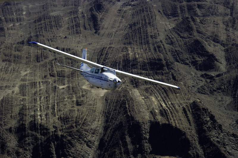 avion-taxi survol namibie