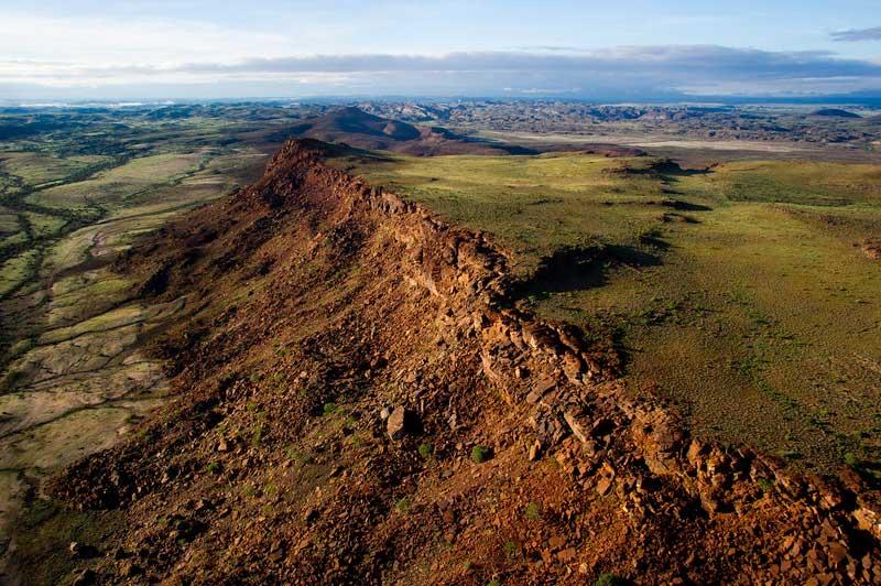 paysages du damaraland namibie