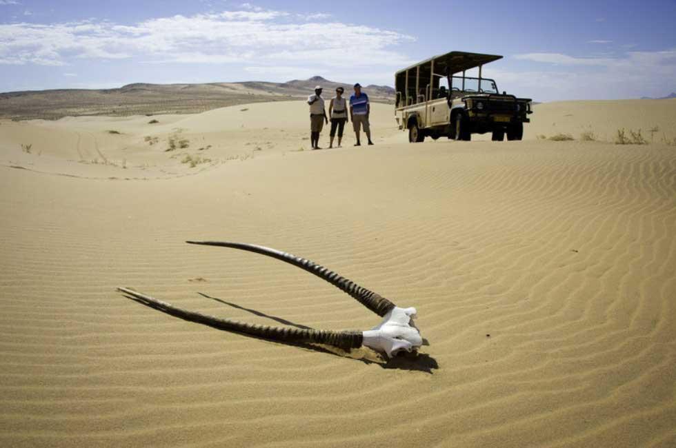 Excursion avec guide - serra cafema namibie
