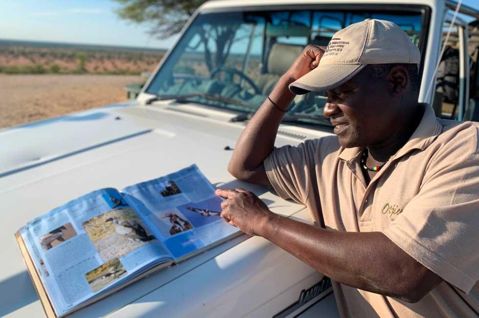 guide touristique en namibie