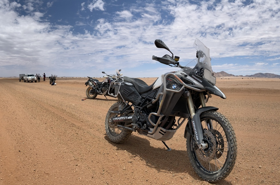 BMW GS 800 desert du Namib