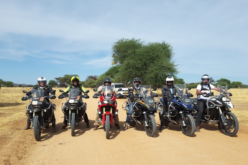 Motos de location en Namibie
