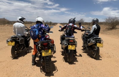 groupe motards namibie